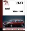Thumbnail 1988-1991 Fiat Tipo Petrol Workshop Repair Service Manual BEST DOWNLOAD